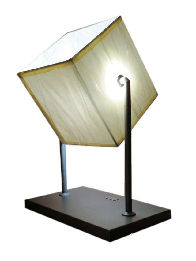 Lampada da tavolo design moderno lume salotto camera for Lampada salotto