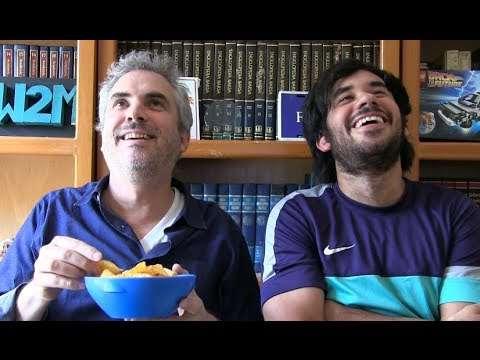 Alfonso Cuarón con Werevertumorro