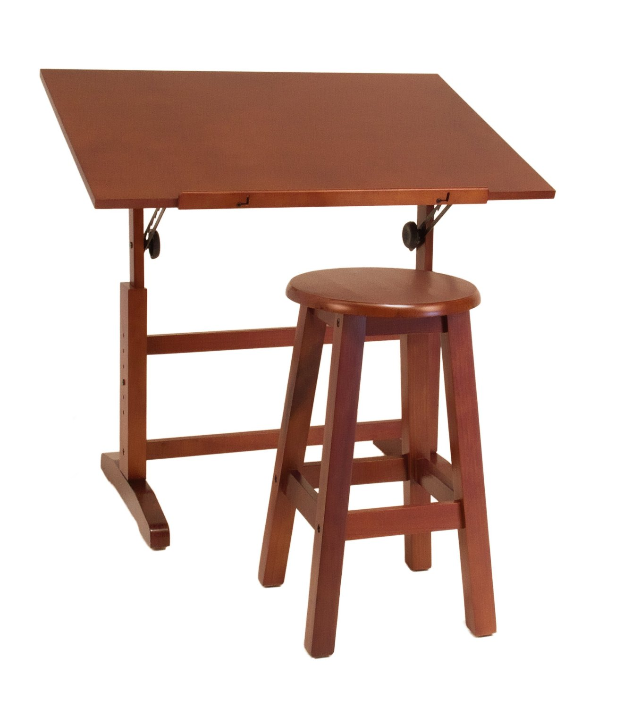Mesa para dibujo artistico con silla escritorio dibujar for Mesa de dibujo ikea