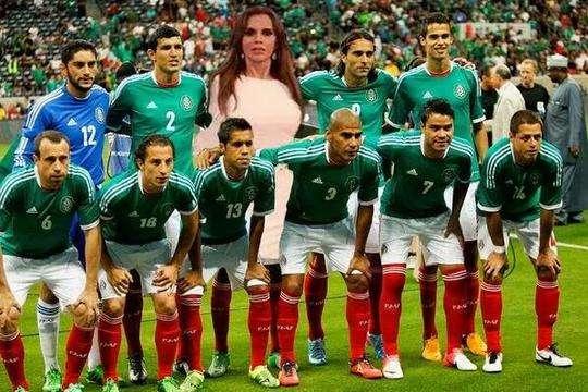 Lucia Mendez en la Selección Mexicana?